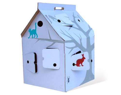 11 - hiška iz kartona