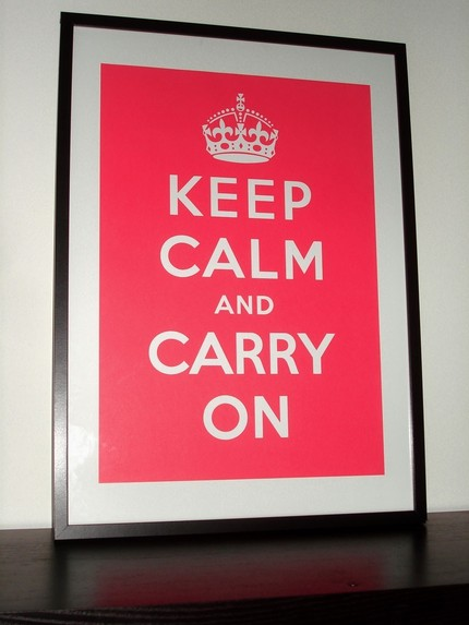 4-plakat Keep calm and...