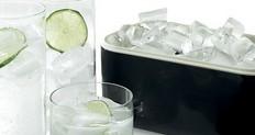 pladenj in škatla za led